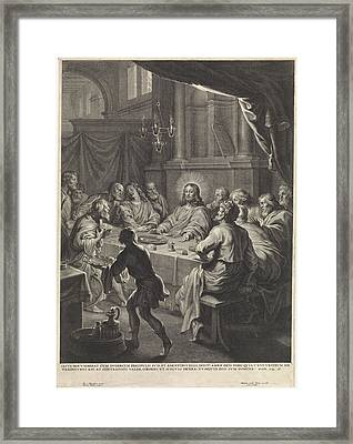 Last Supper, Michel Natalis Framed Print