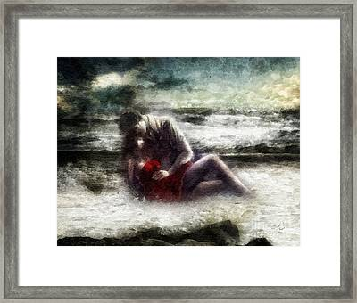 Last Tide Framed Print by Mo T