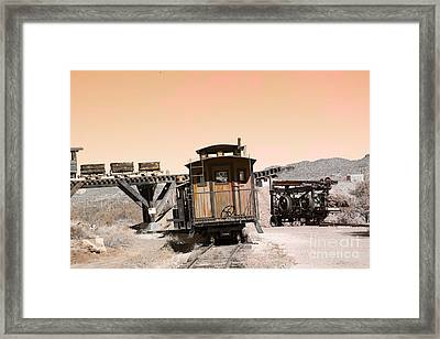 Last Train Home Framed Print by Beverly Guilliams