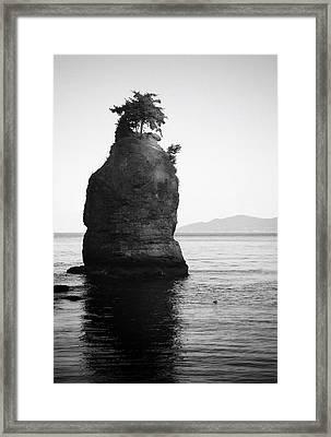 Last Walk Framed Print by Empty Wall