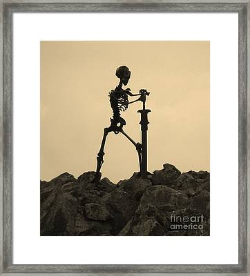 Last Watch Framed Print