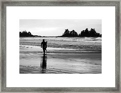 Last Wave Framed Print by Steve Raley