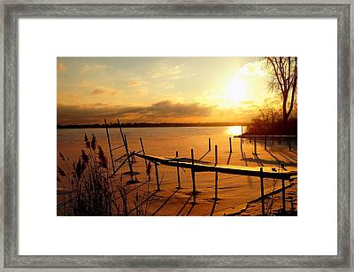 Last Winter ? Framed Print