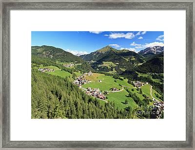 Laste - Val Cordevole Framed Print