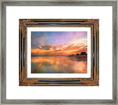Lasting Moments Framed Print by Betsy Knapp