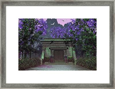 Lasting Peace Framed Print by Michael Wimer