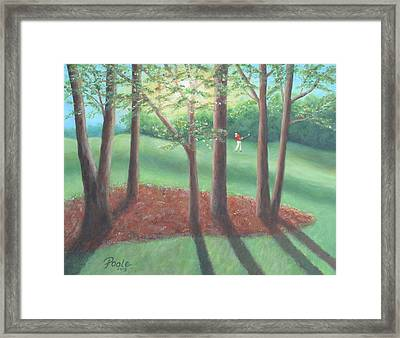 Late Afternoon At Eagle Ridge Framed Print