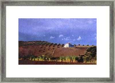 Late Afternoon Cordoba Framed Print by Spyder Webb
