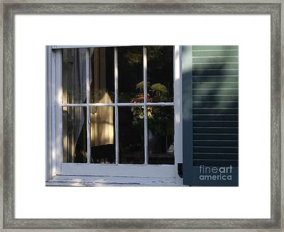 Late Day Sun Bouquet Framed Print by Living Color Photography Lorraine Lynch