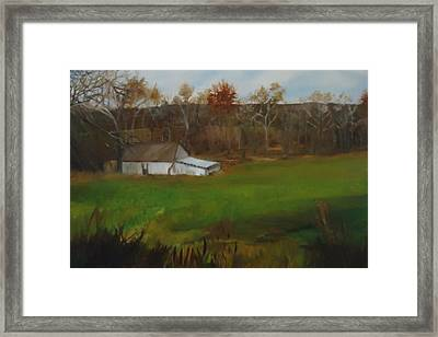Late Fall Earley Winter Framed Print
