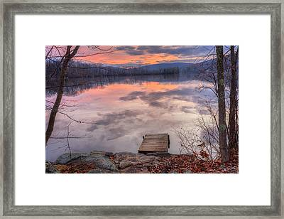 Late Fall Early Winter Framed Print by Bill Wakeley