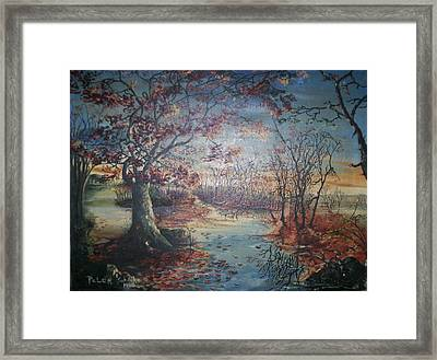 Late Fall Framed Print