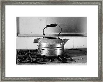 Late For Tea Framed Print