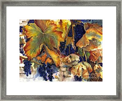 The Magic Of Autumn Framed Print by Maria Hunt