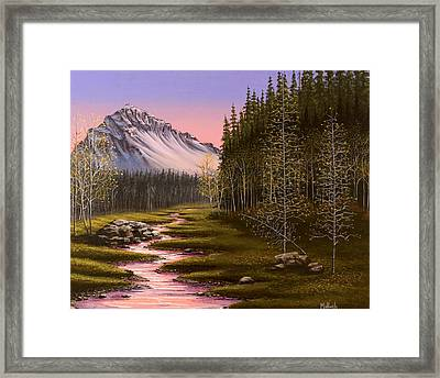 Late In The Day Framed Print by Jack Malloch