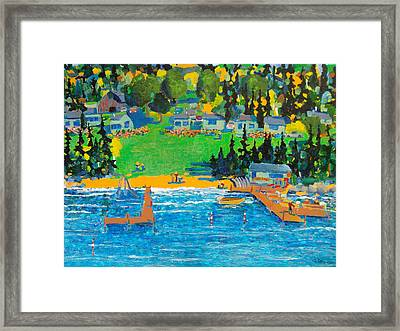 Late In The Season Framed Print