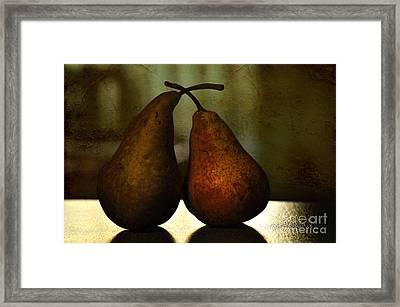 Late Night Kiss Framed Print