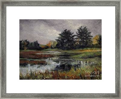 Late November Storm Framed Print by Gregory Arnett