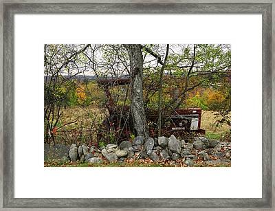 Late October Framed Print