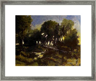 Late Spring After The Winds Framed Print