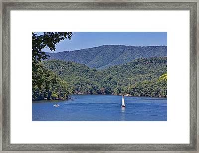 Late Summer Cruising  Framed Print
