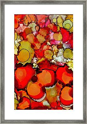 Late Summer Flowers Framed Print