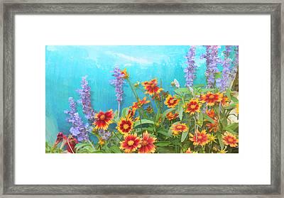 Late Summer Palette Framed Print by Douglas MooreZart
