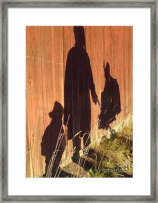 Late Summer Walk Framed Print by Martin Howard