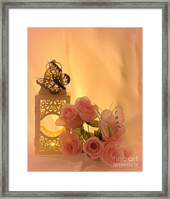 Late Summers Eve Framed Print
