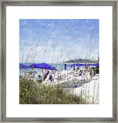 Late Winter Early Spring When Everybody Goes To Florida Framed Print