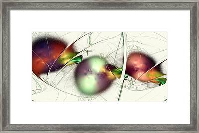 Latent Images Framed Print by Anastasiya Malakhova