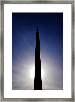 Lateran Obelisk Framed Print by Fabrizio Troiani