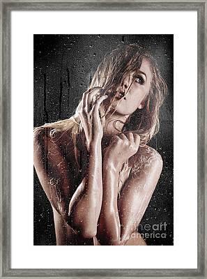 Lather Up Framed Print