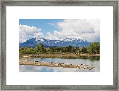 Lathrop State Park Framed Print by Aaron Spong