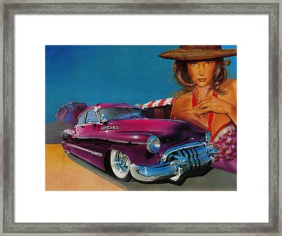 Latin Culture Framed Print by Luis  Navarro