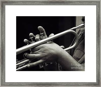 Latin Trumpet Framed Print