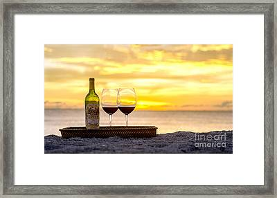 Latitudes Framed Print by Jon Neidert