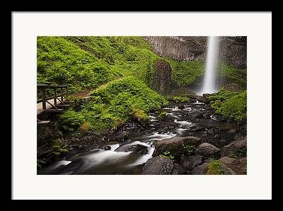 Pacific Northwest Rivers Framed Prints