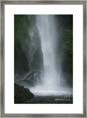 Latourelle Falls 5 Framed Print by Rich Collins
