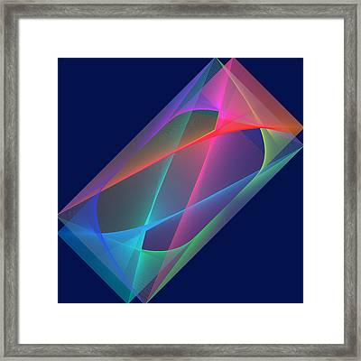 L'attente/the Waiting Framed Print
