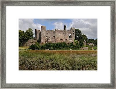 Laugharne Castle Framed Print