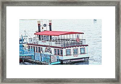 Laughlin Riverboat Framed Print