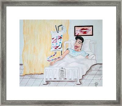 Laughter As Medicine Framed Print