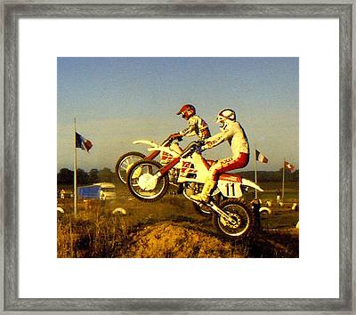 Launch Framed Print by Guy Pettingell