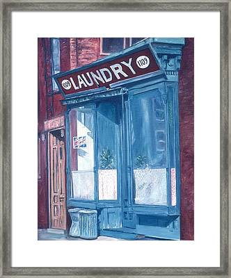 Laundry Framed Print by Anthony Butera