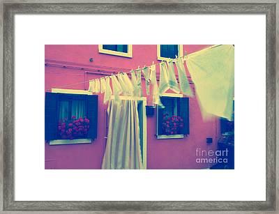 Laundry Day 1 Framed Print by Danilo Piccioni