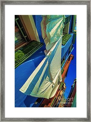 Laundry Day 2 Framed Print by Danilo Piccioni