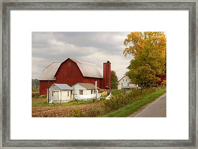 Laundry Day Framed Print by Ann Bridges