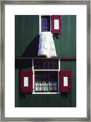 Laundry Day Framed Print by Joana Kruse