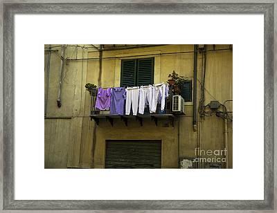 Laundry Day Framed Print by Madeline Ellis